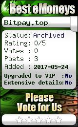 bestemoneys.com - hyip bitpay crypto limited