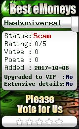 bestemoneys.com - hyip hash universal limited