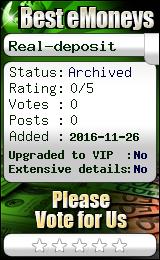 bestemoneys.com - hyip real - deposit